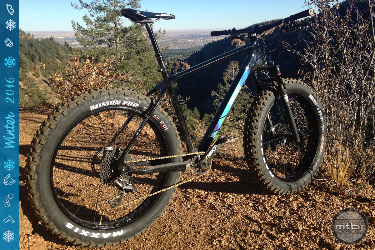 During our HQ visit, we spent a couple hours riding the fantastic trails just west of Colorado Springs.