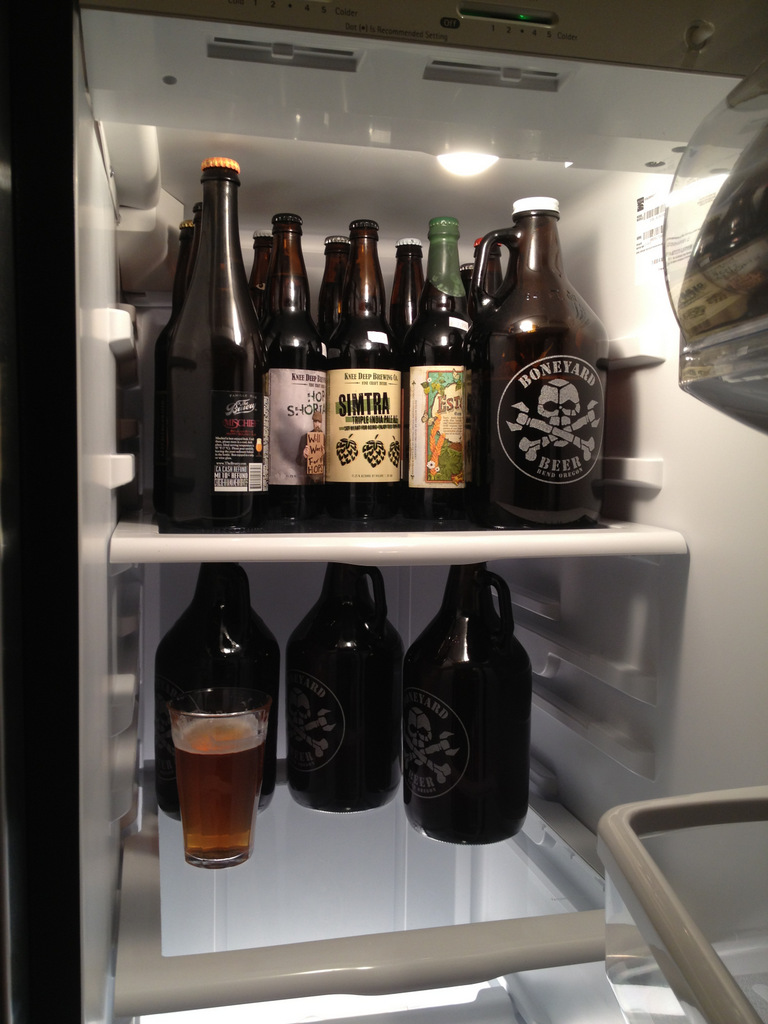Fridge is stocked