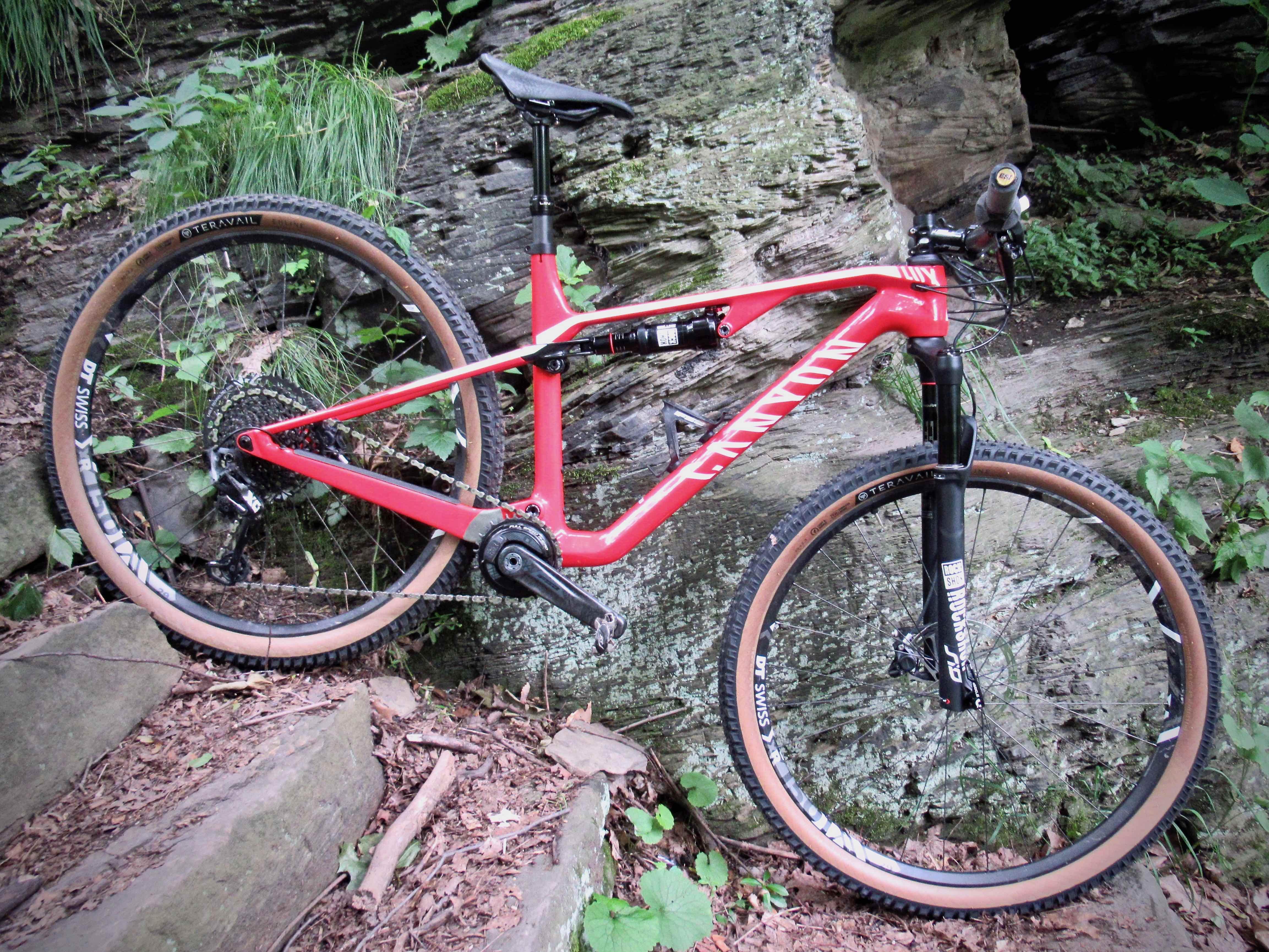 Modern cross country bike