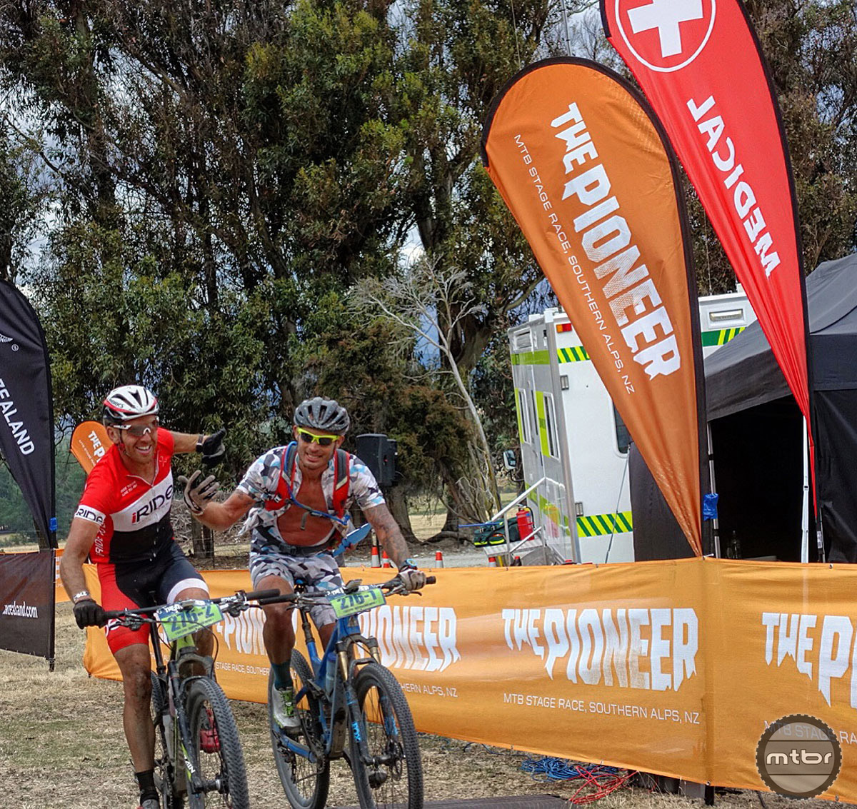 Hauswald and Young finished the Pioneer MTB Stage Race 8th overall and second in the Master's 40+ category. Total saddle time: nearly 31 hours...