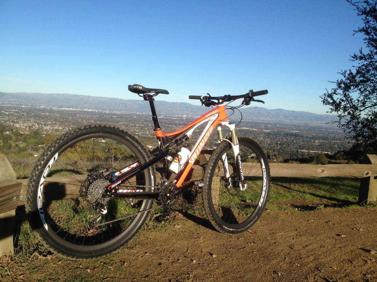 Specialized Carbon Control on Specialized Epic