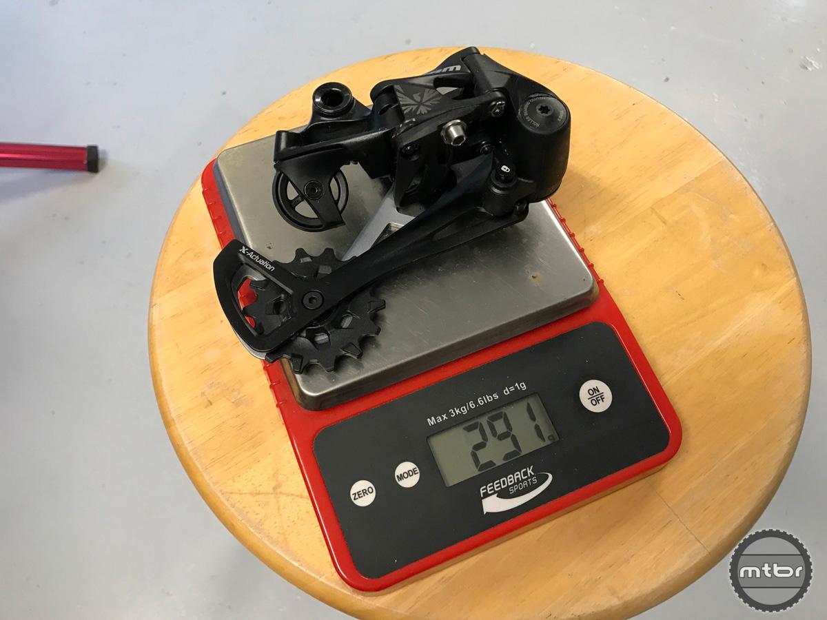 SRAM GX Eagle Rear Derailleur Weight