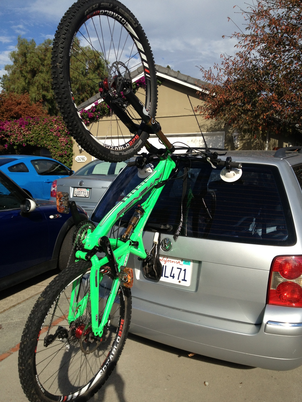 29Er Mountain Bike >> Seasucker Hornet Bike Rack First Impressions - Mountain ...
