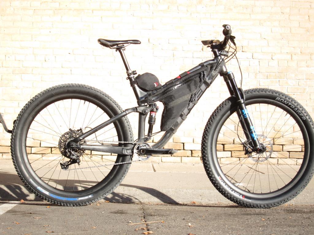 Trek Stache EX 29+ Full Sus Adventure Bike - User Prototype- Mtbr.com