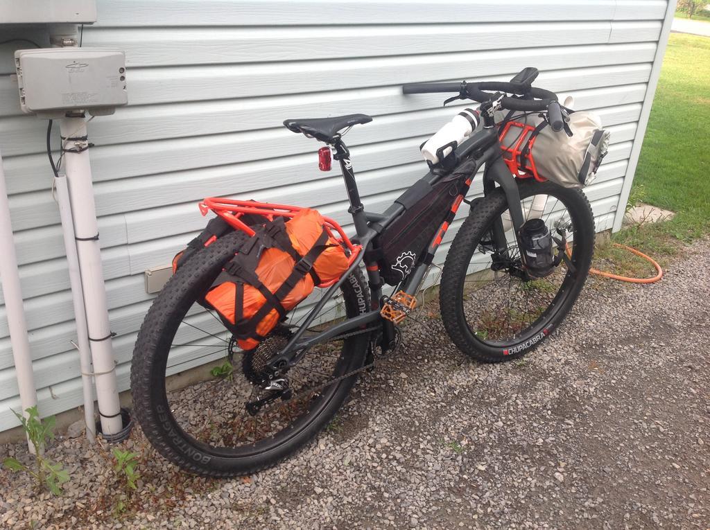The Bikepacking Stache Trek 1120 Mtbr Com