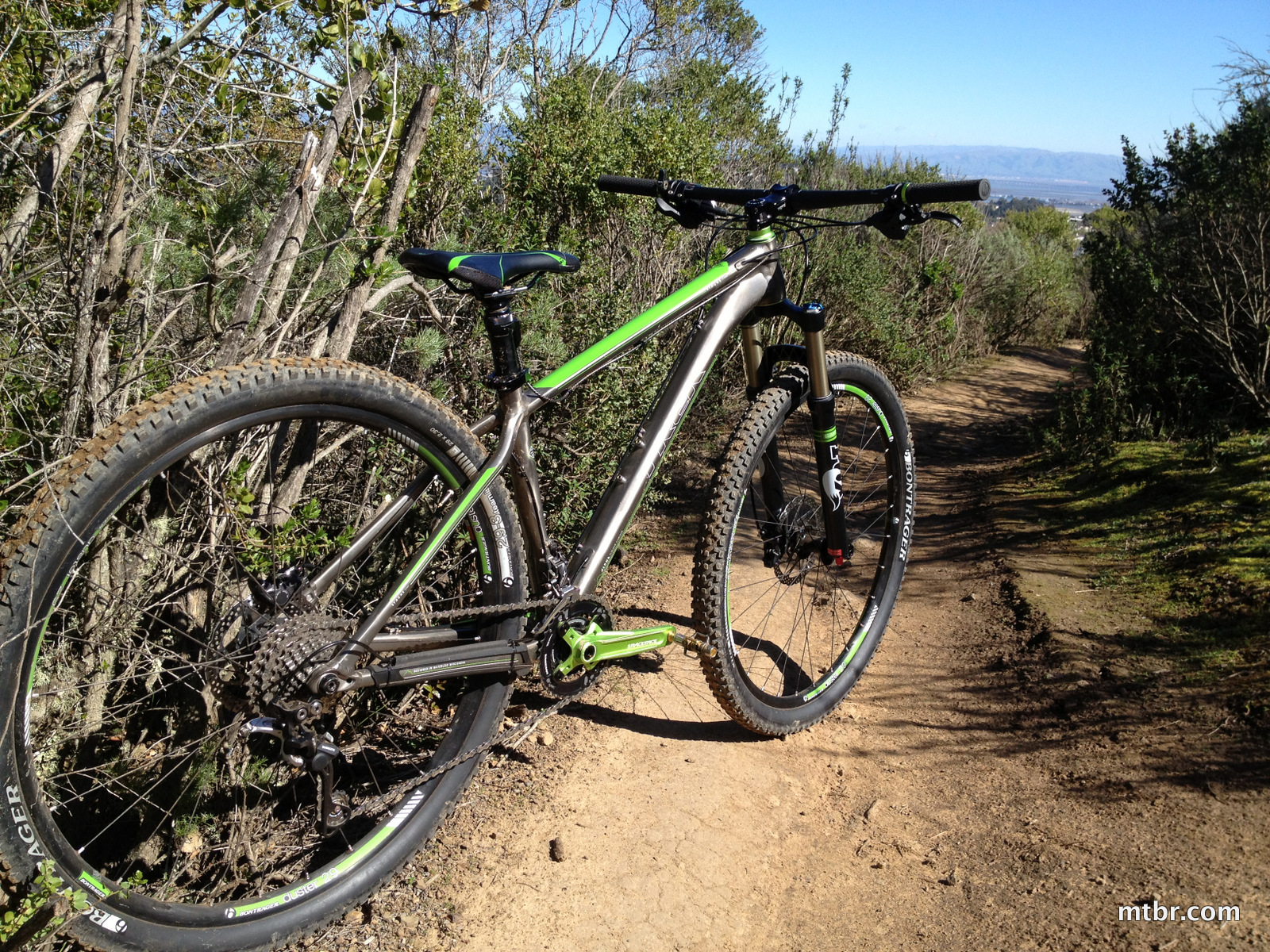 Trek Stache 8 on Trail