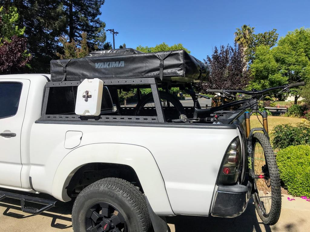 Randybuilt Pickup Roof Top Tent Rack For Bikes Mtbr Com