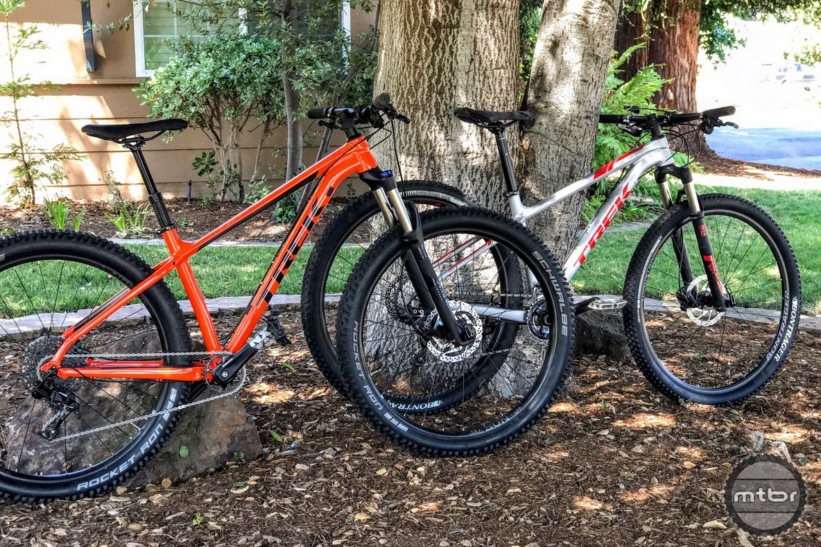 Trek Roscoe and X-Caliber