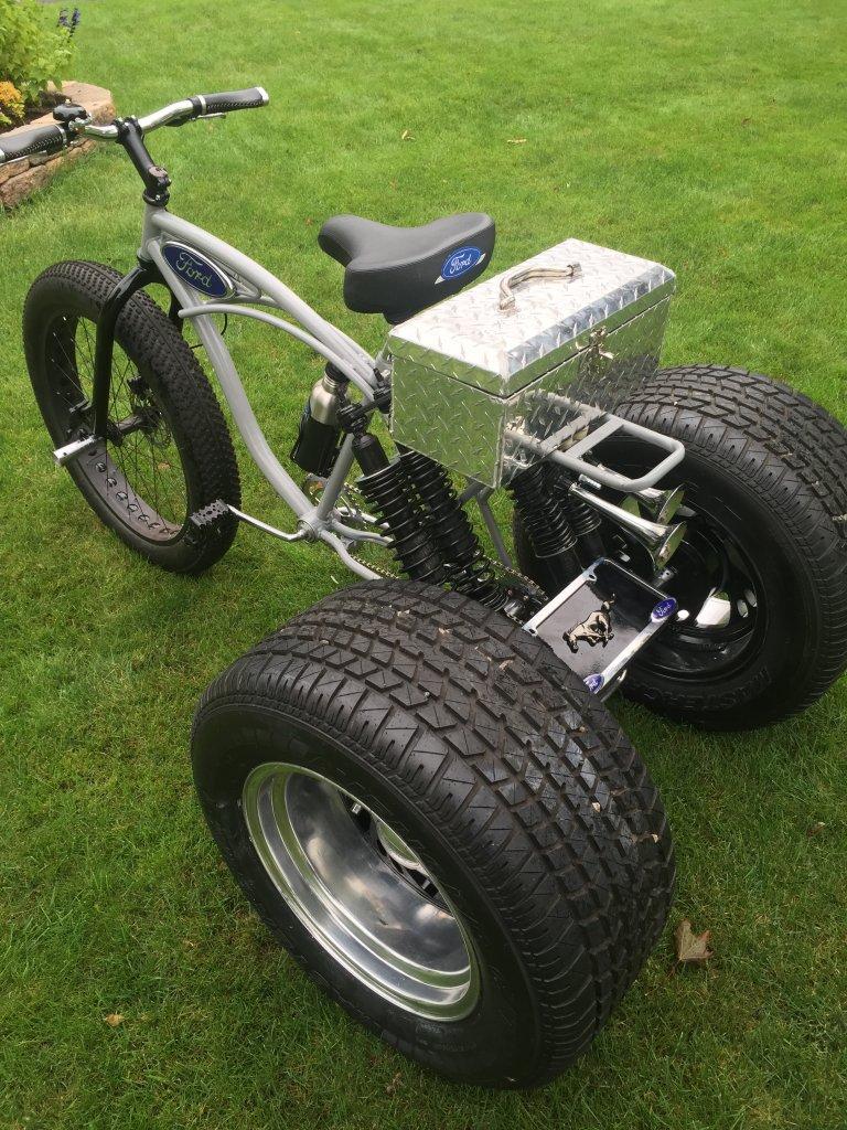 tandem trike fat bike. Black Bedroom Furniture Sets. Home Design Ideas