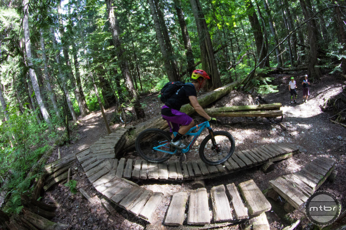 There's arguably no more diverse and amazing place to ride bikes than Whistler, British Columbia. Photo by Norma Ibarra