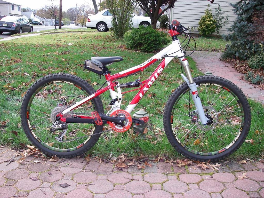 full suspension bike junior