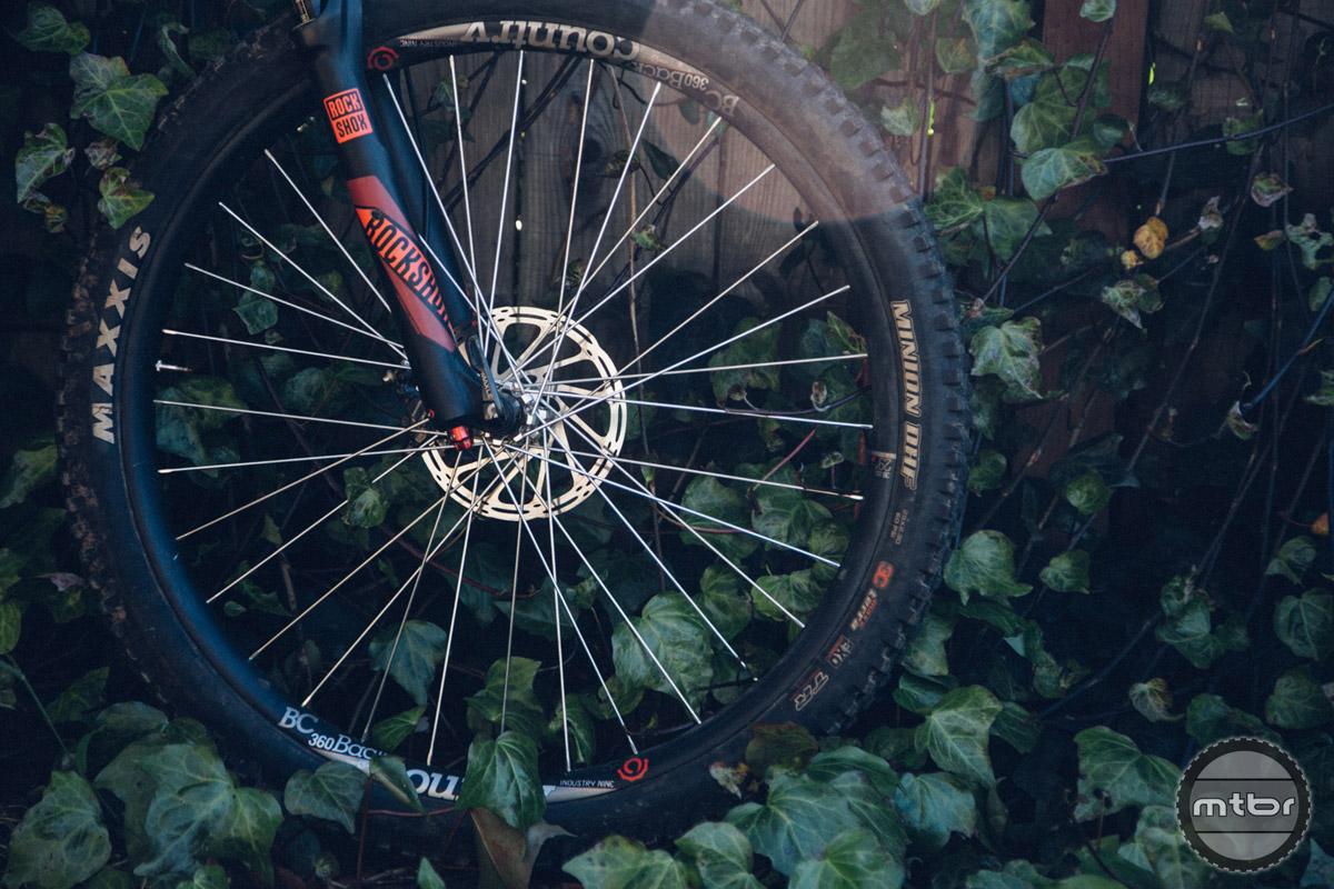 Industry Nine BackCountry 360 Torch Plus 29er Rims Wheelset