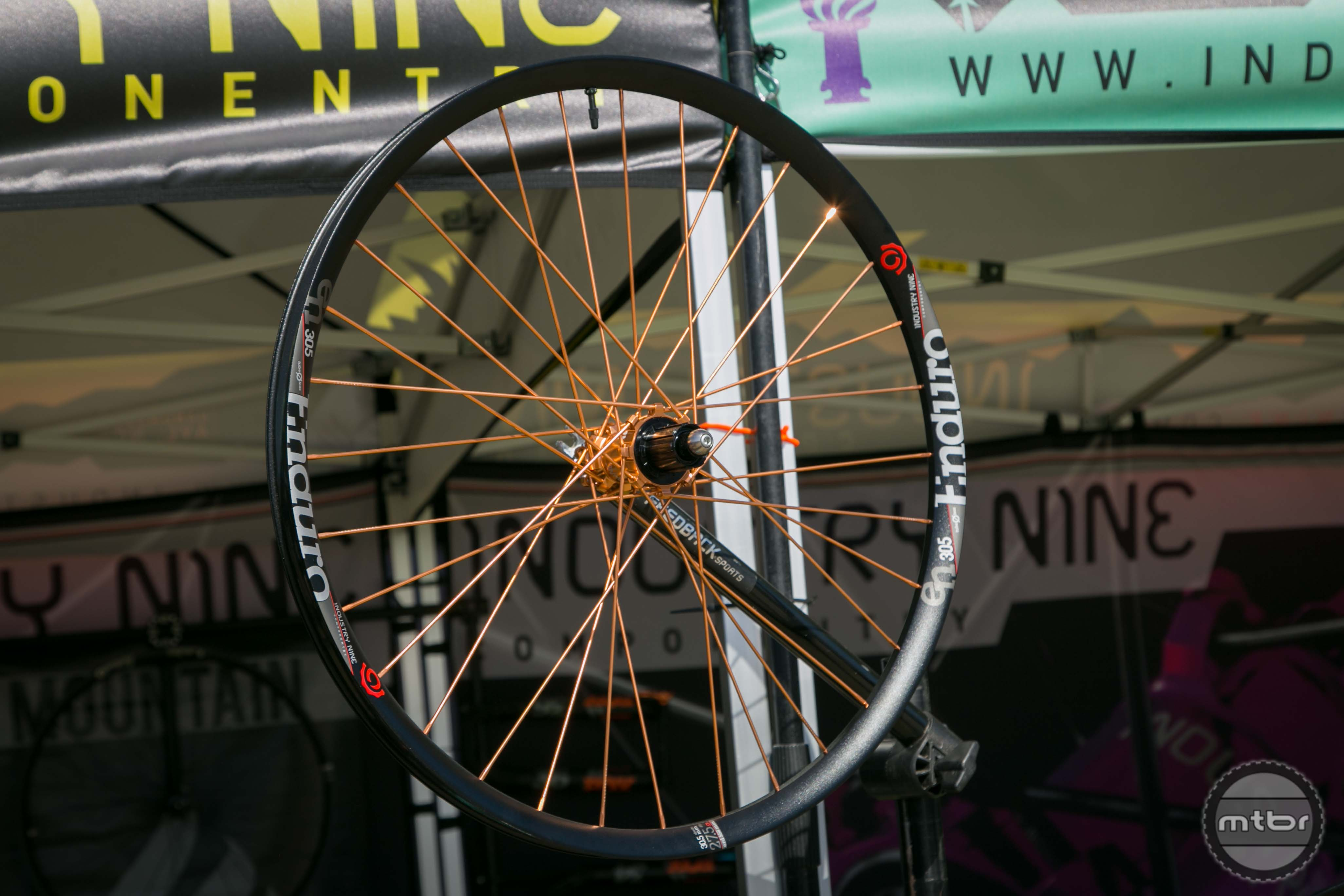 I9 is building 29 of these limited edition copper wheels. Why 29? That's the atomic number of carbon.