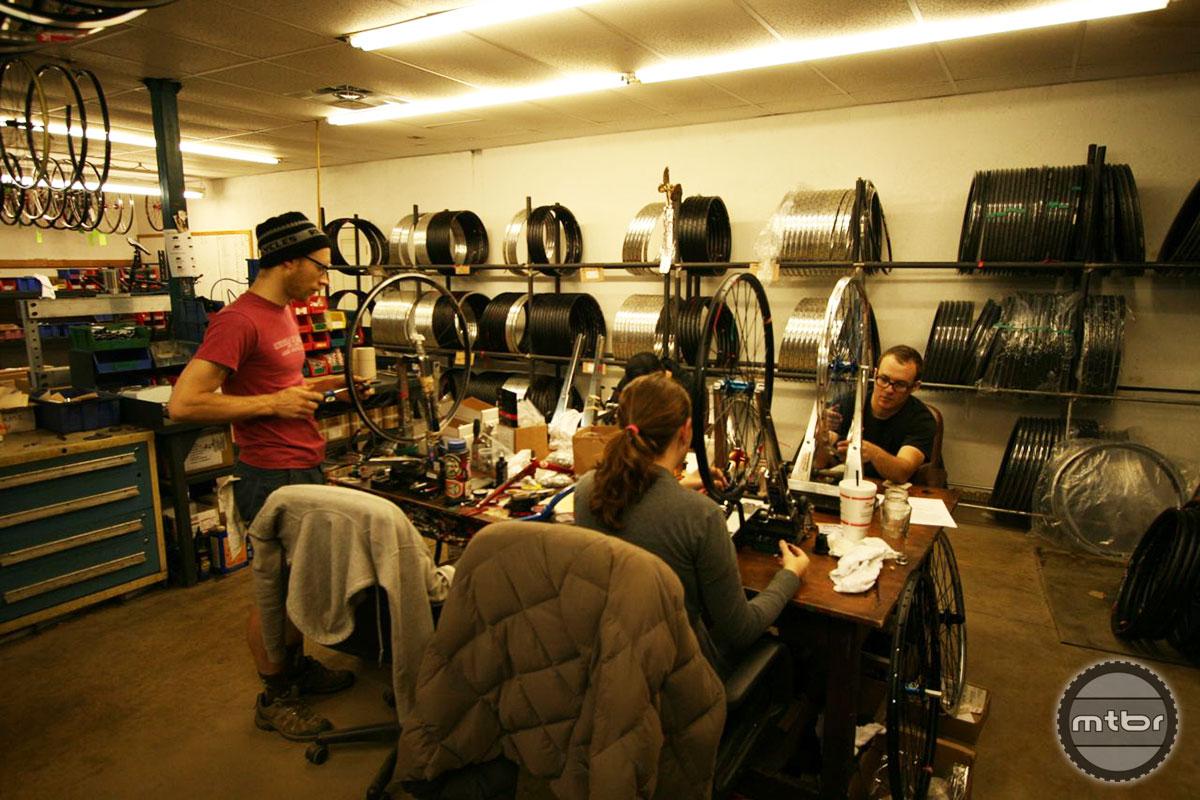 Industry Nine Wheel Building