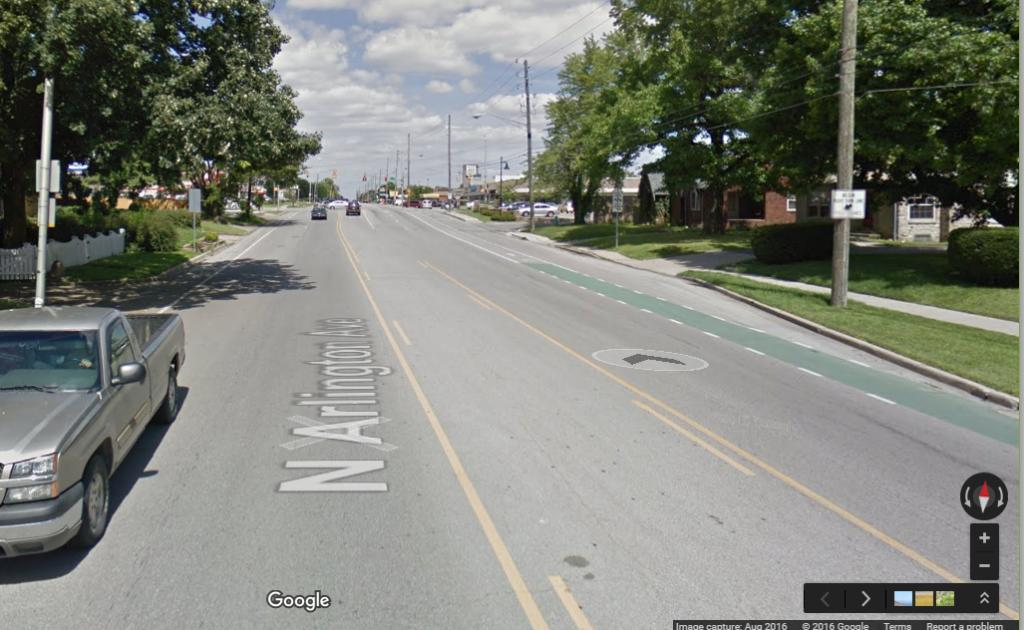 When driving, do you merge into bike lane on right turns?-indybikelane2.jpg