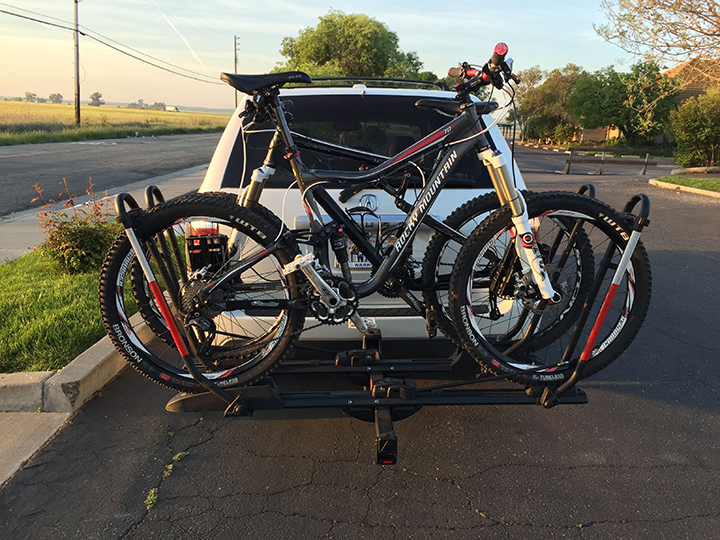 original product rack tech platform swagman x the bike