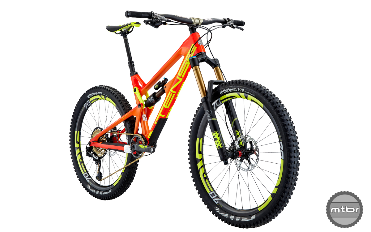 Intense Tracer 27.5 2 Factory Build Red 2017