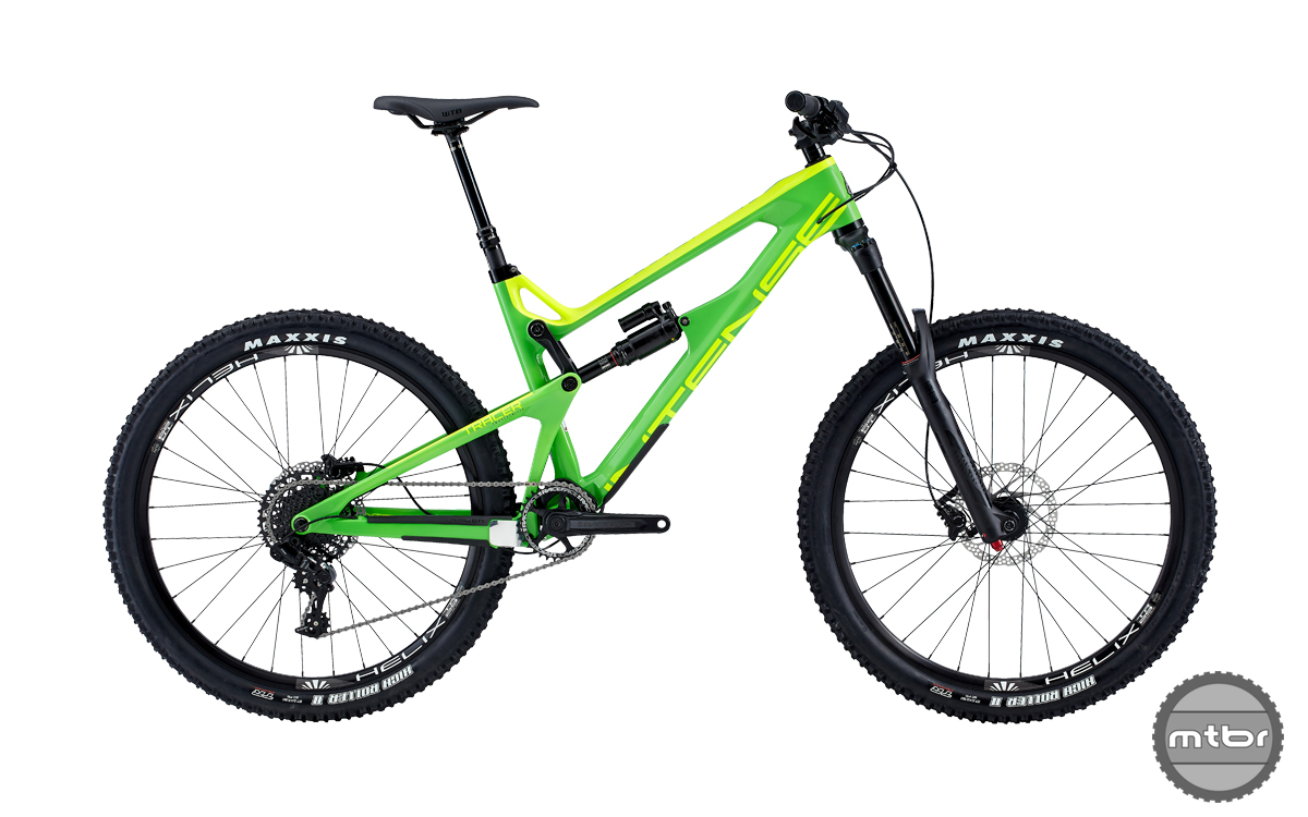 Intense Tracer 27.5 2 Foundation Build Green 2017