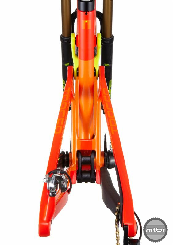 Intense Tracer 27.5 2 Rear Chainstay Details