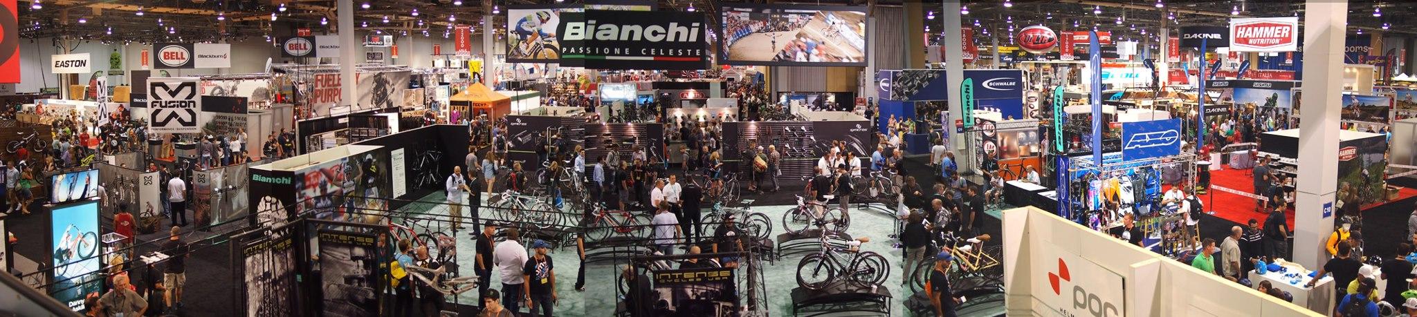 Interbike Show Floor