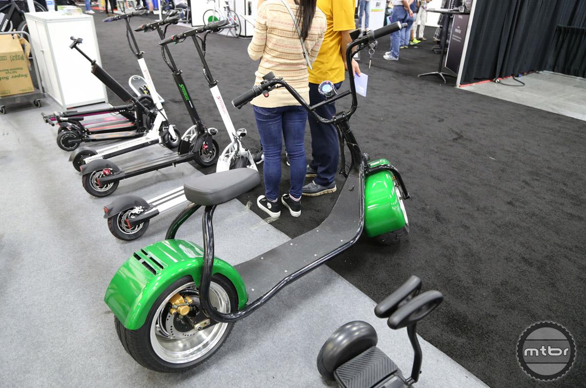 American chopper-inspired e-scooter.