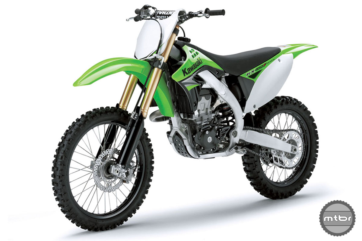 Inverted Shock KX450F