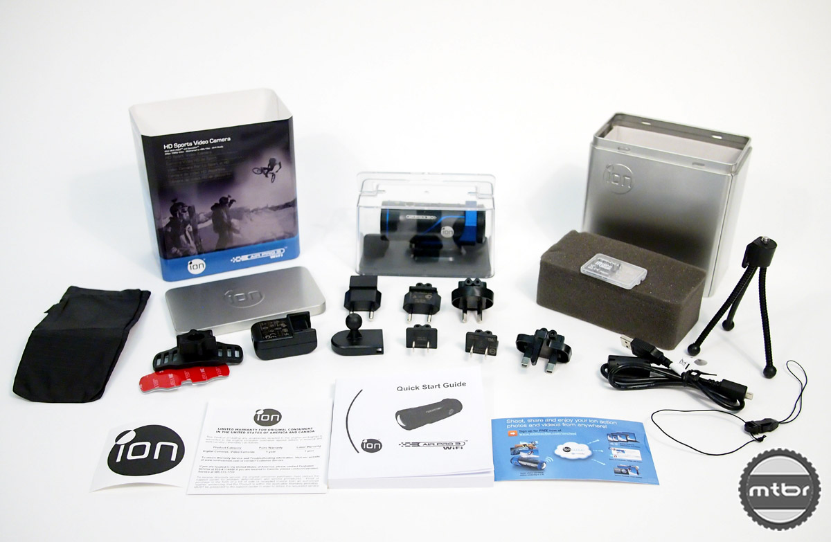iON Air Pro 3 - accessories and adapters