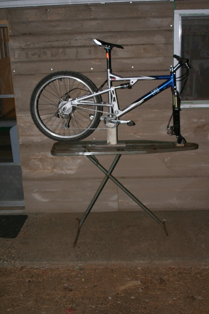 Home Made Bike Stand Can T Think Of A Good Idea For This Part