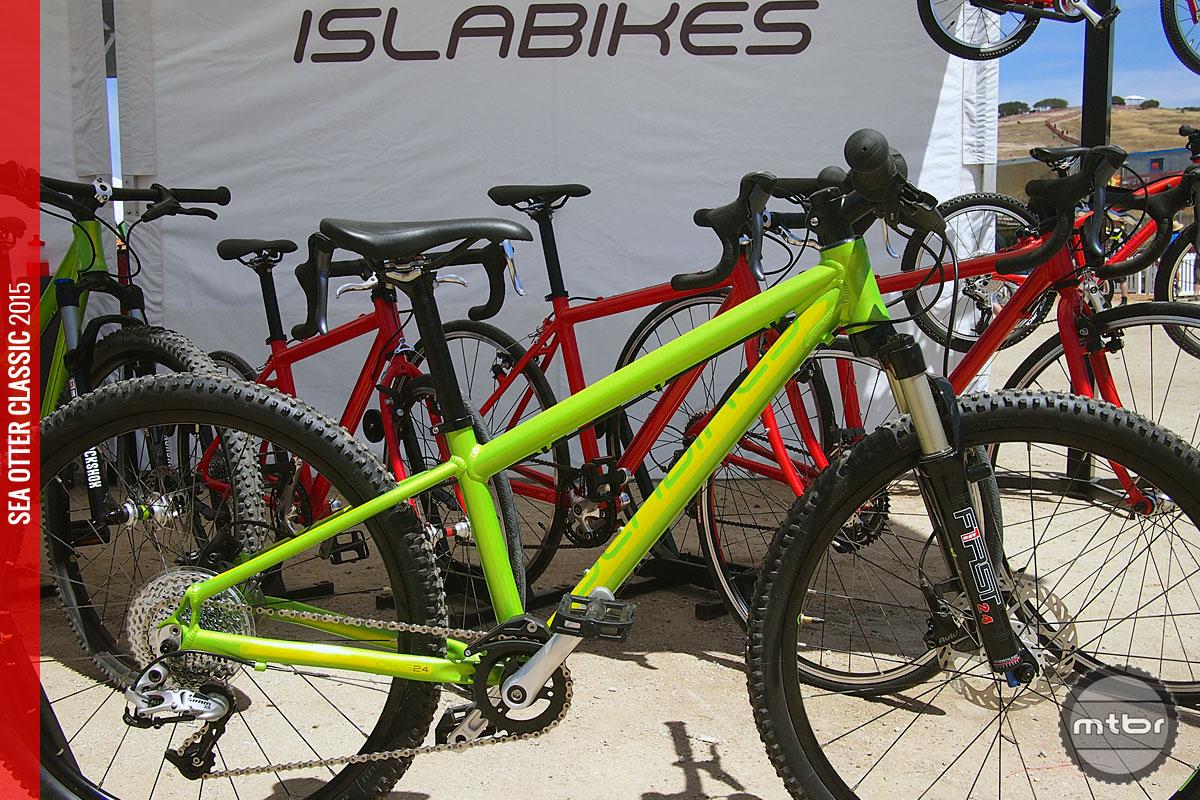 Oregon's Isla Bikes specializes in lightweight aluminum kids bikes.
