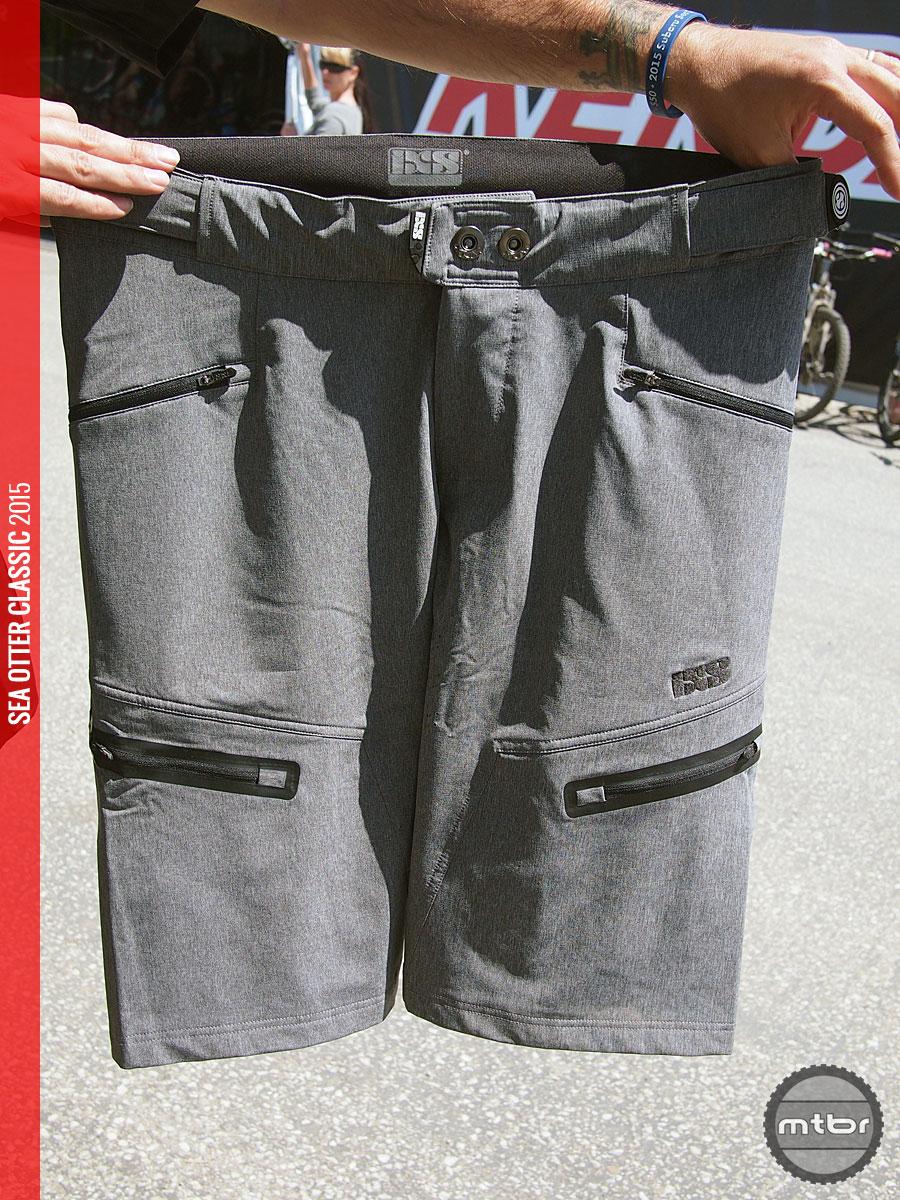 iXS - Sever shorts in grey