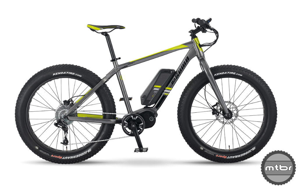 Izip E3 Sumo - electric fat bike