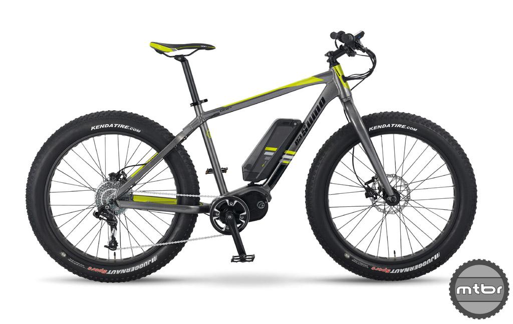 Izip E3 Sumo - electric fat bike