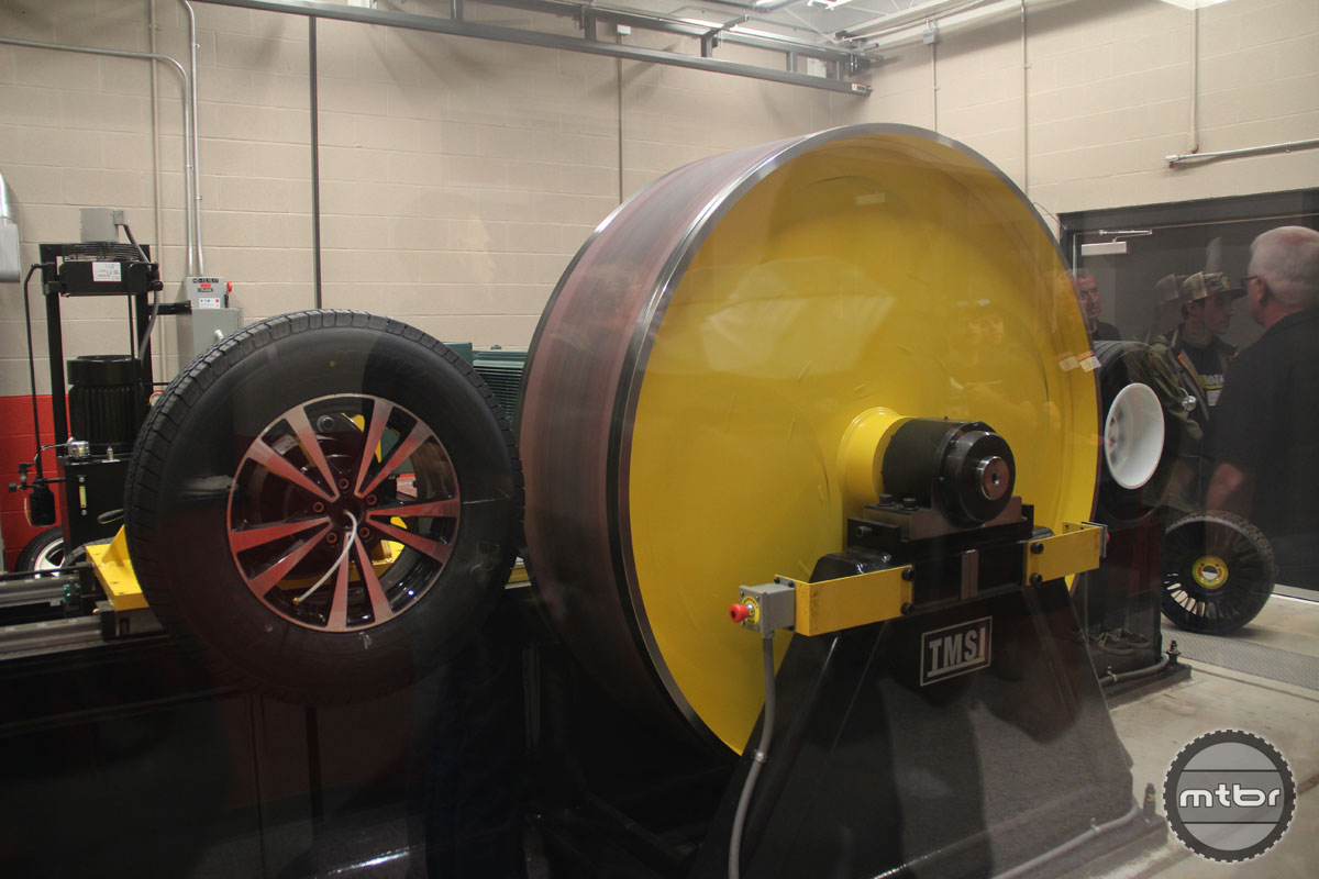 Kenda Tire Testing Facility