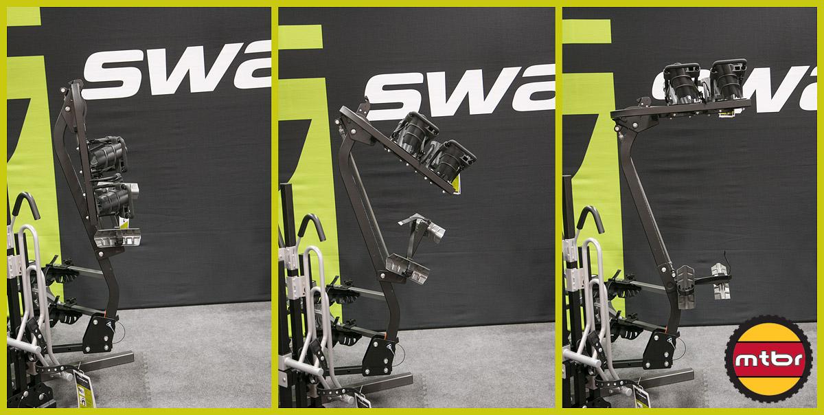 Swagman Jacknife Bike Rack Folding Sequence