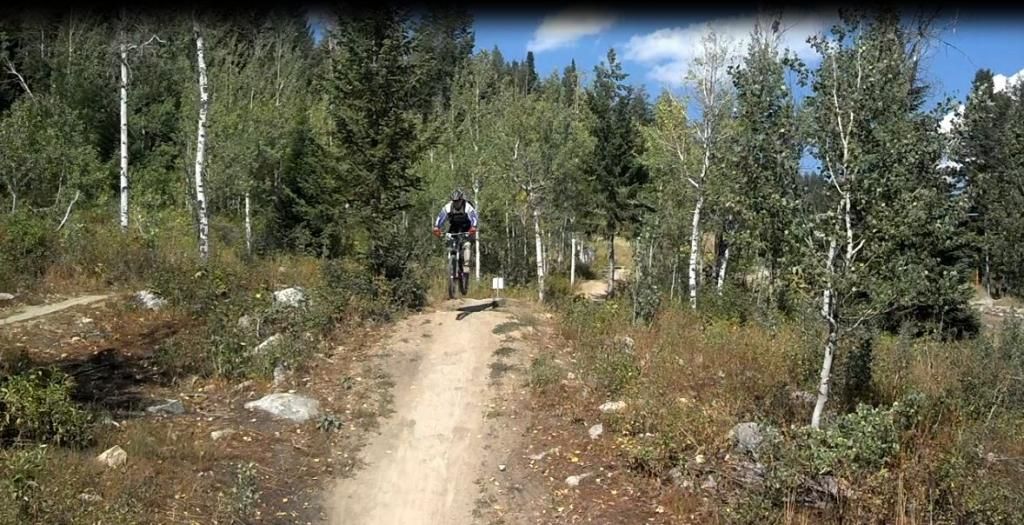 Pacticing For The New Flagstaff Downhill Trail-jackson.jpg