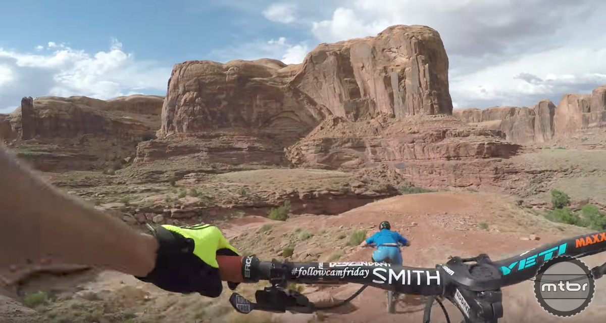 Follow Cam: Jackson's Trail, Moab, Utah