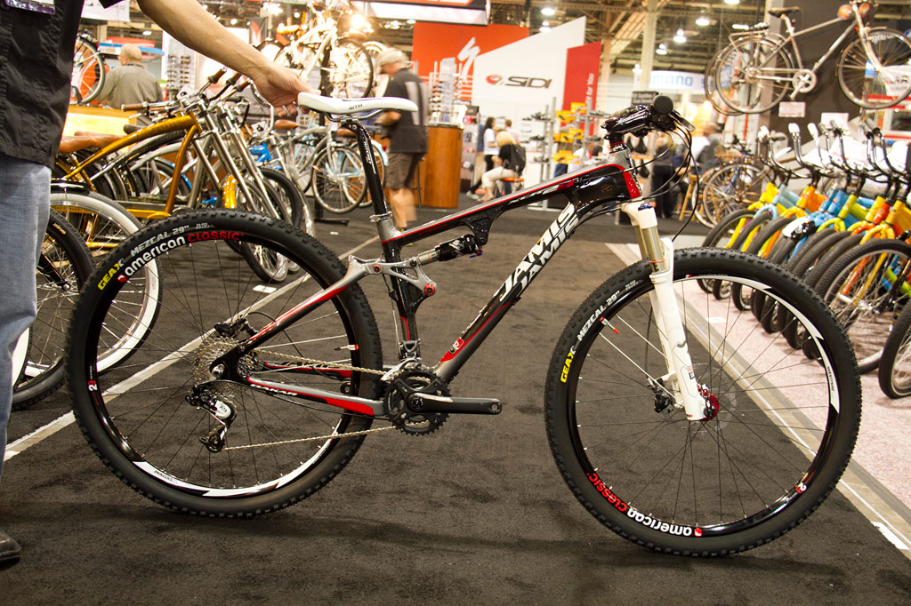 Jamis XCR 29 Pro Carbon Full Suspension 29er