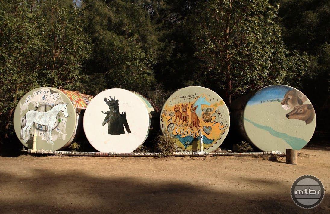 January 2014 UC Santa Cruz Tanks