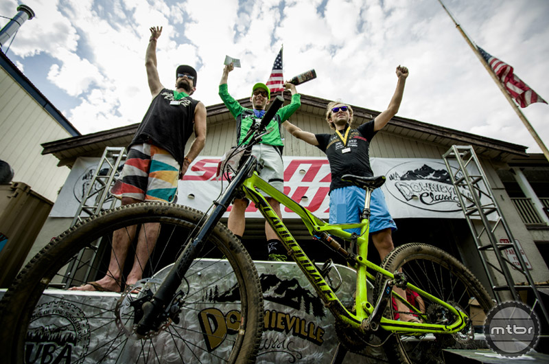 Cannondale sponsored rider Jason Moeschler brought home the gold from Downieville.