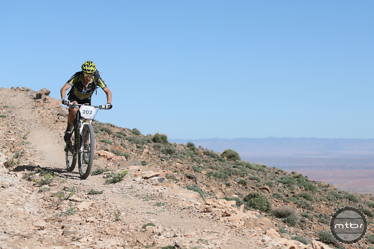 Sonya at Titan Desert Stage Race 2014