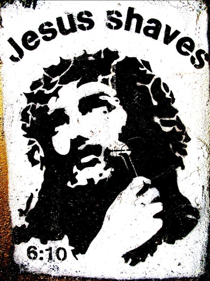 Bumper Stickers-jesus_shaves.jpg