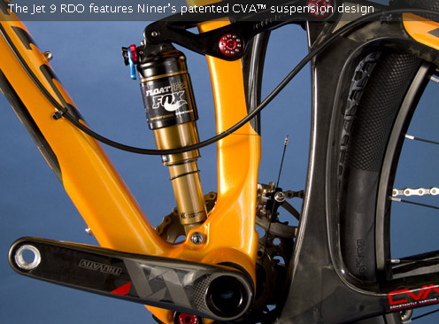 Niner JET 9 RDO - cva-suspension
