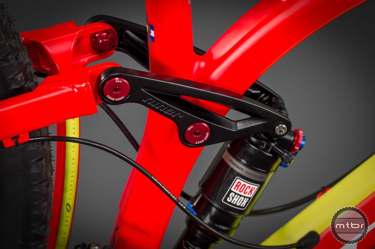 Niner JET 9 - linkage closeup