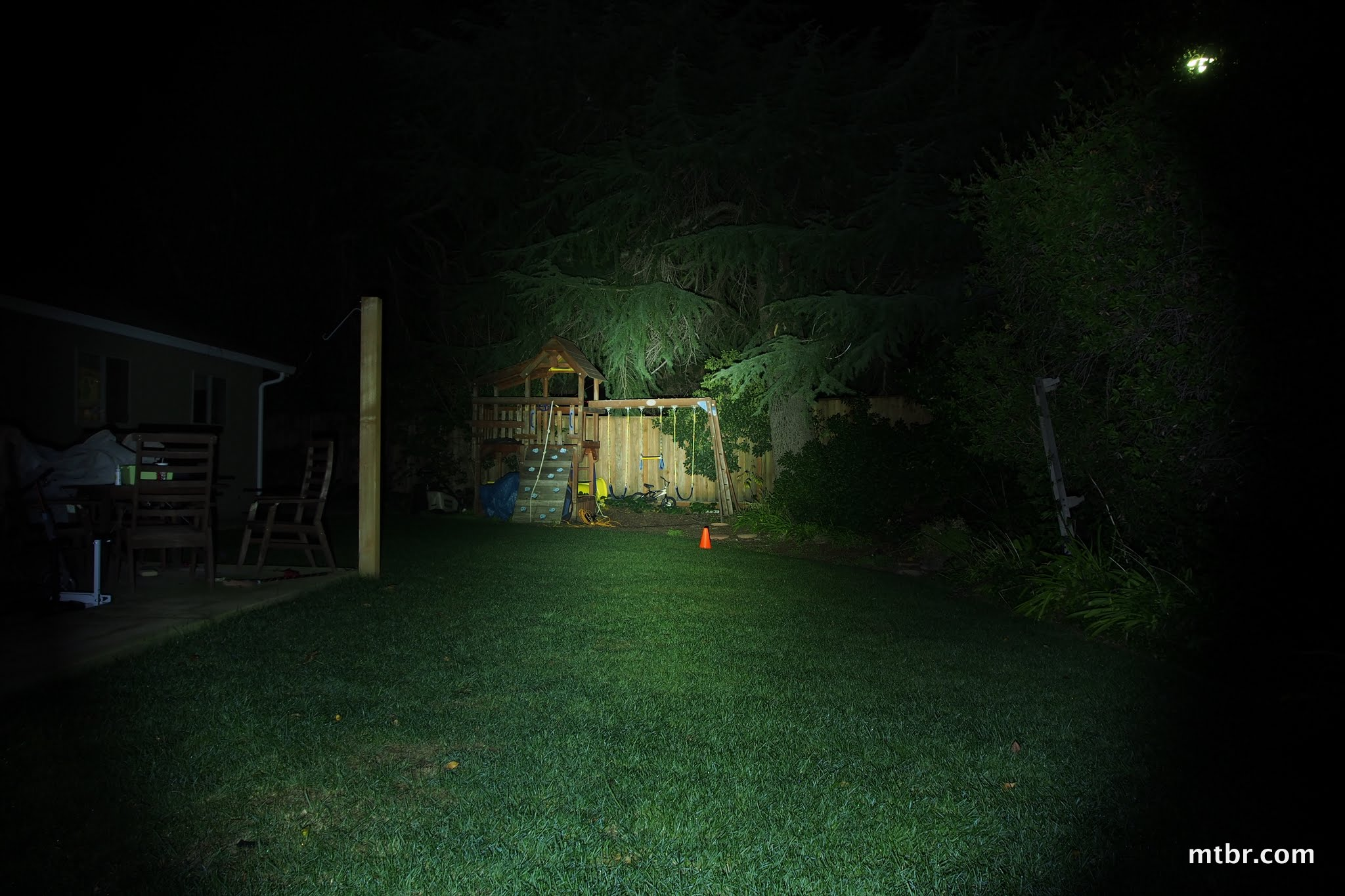 Jet Lites F-U2 Backyard Beam Pattern