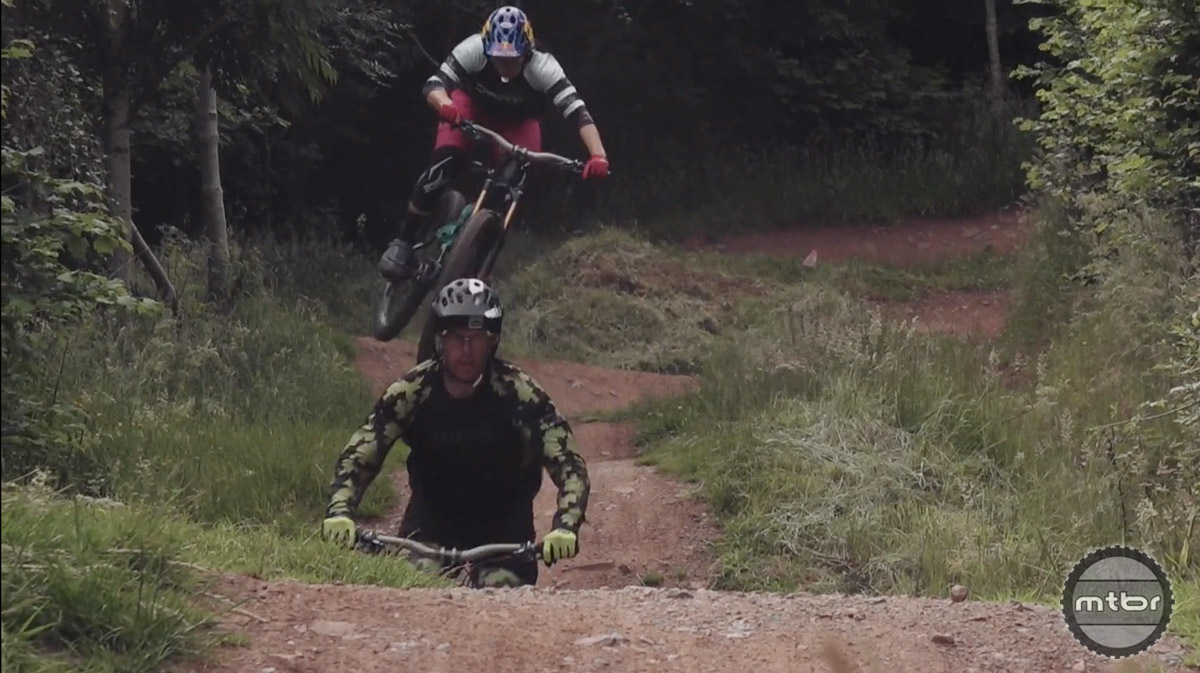 Jill Kintner and Bryn Atkinson, the most talented couple in MTB.