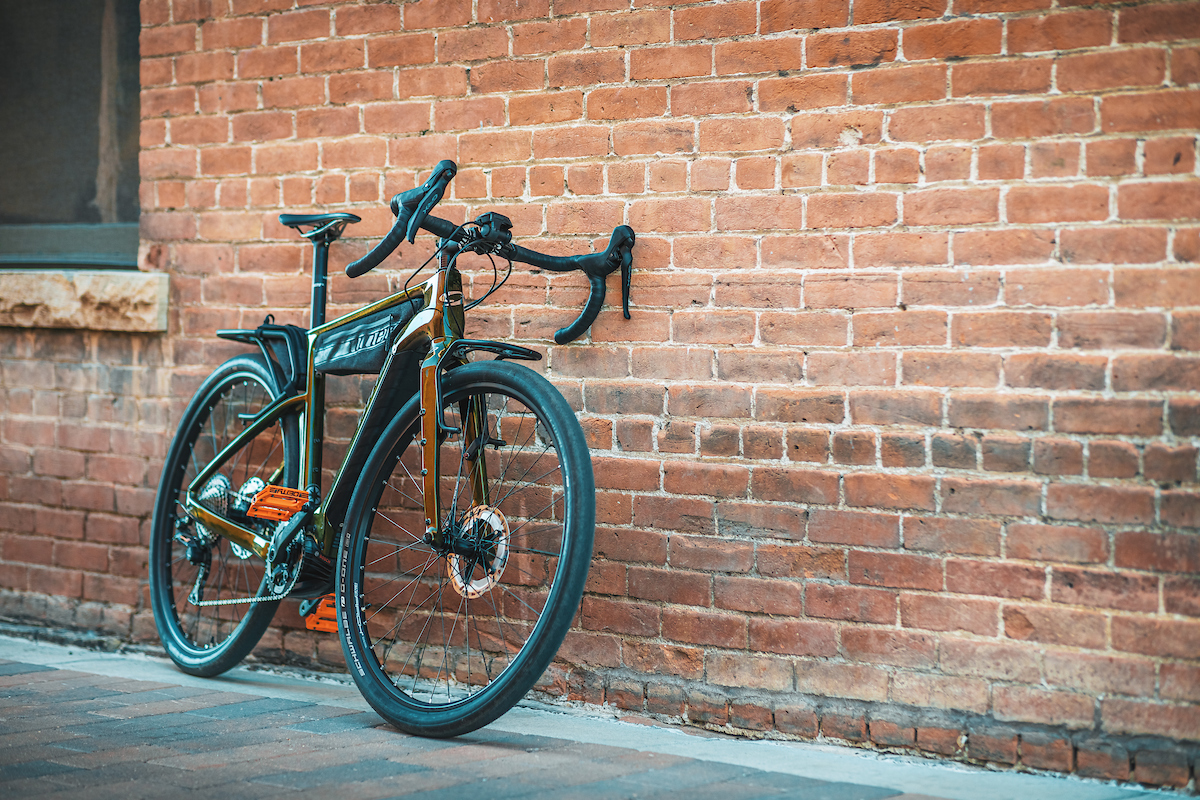 The RLT e9 RDO can be a gravel grinder or a grocery getter.
