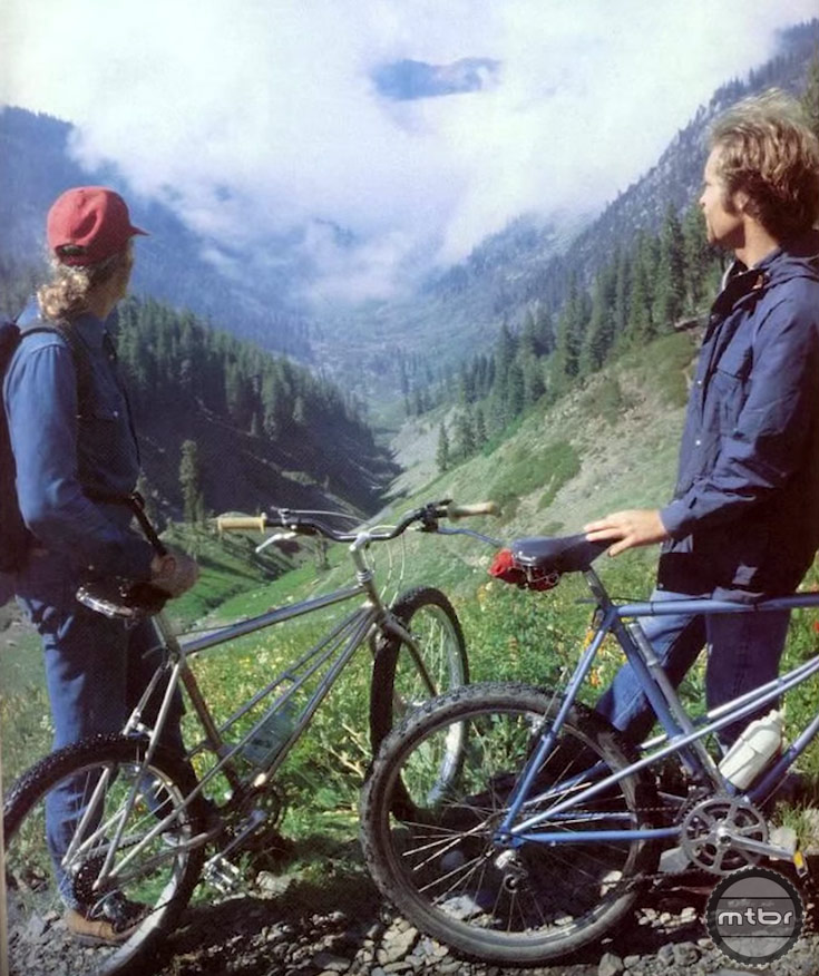 Even back then, they had plenty of gear range for climbing big mountains. The first Breezers were 6-speed with triple chainrings.