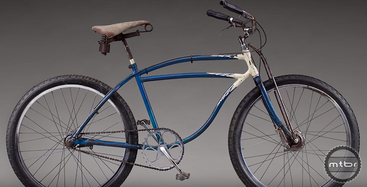 This old Schwinn became inspiration for the first Breezer bikes.
