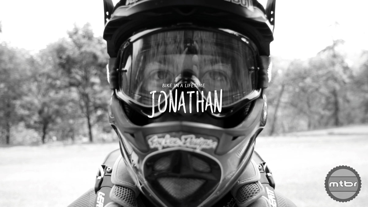 "Jonathan ""Bike in a lifetime"""