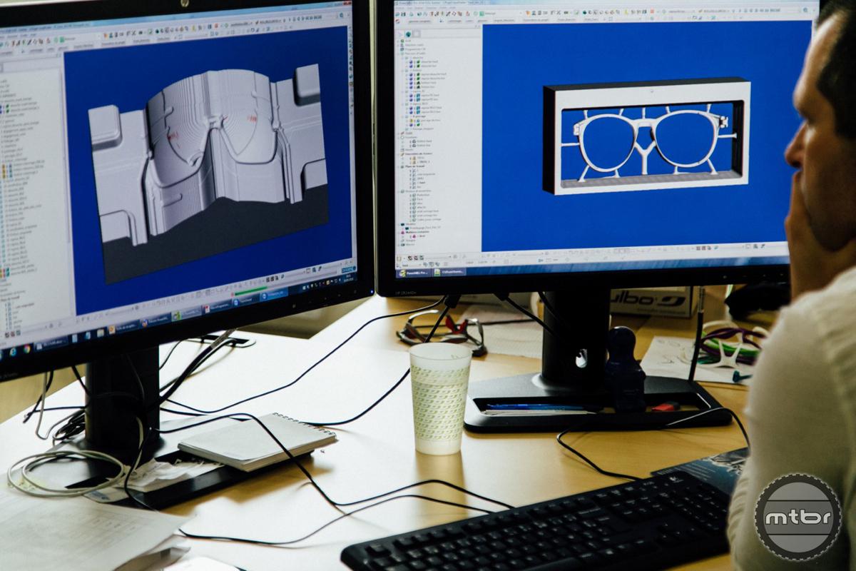 CAD file for frame molds.